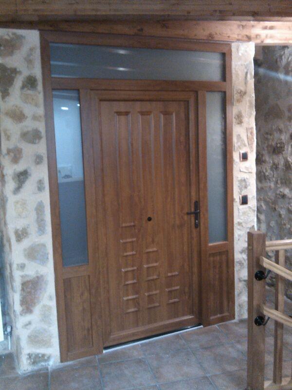 Puertas pvc entrada casa stunning puertas para bao de de - Puertas de entrada de pvc precios ...